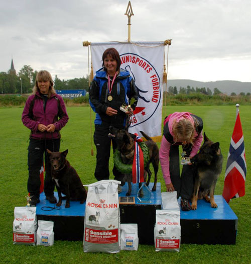 HavrevingensAmbra-Norsk mester spor2013